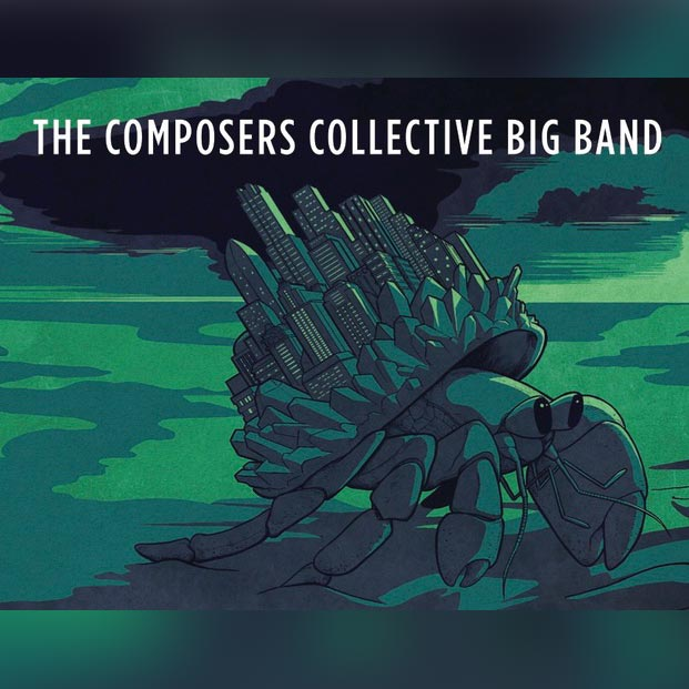 The Composer's Collective Big Band - Album art