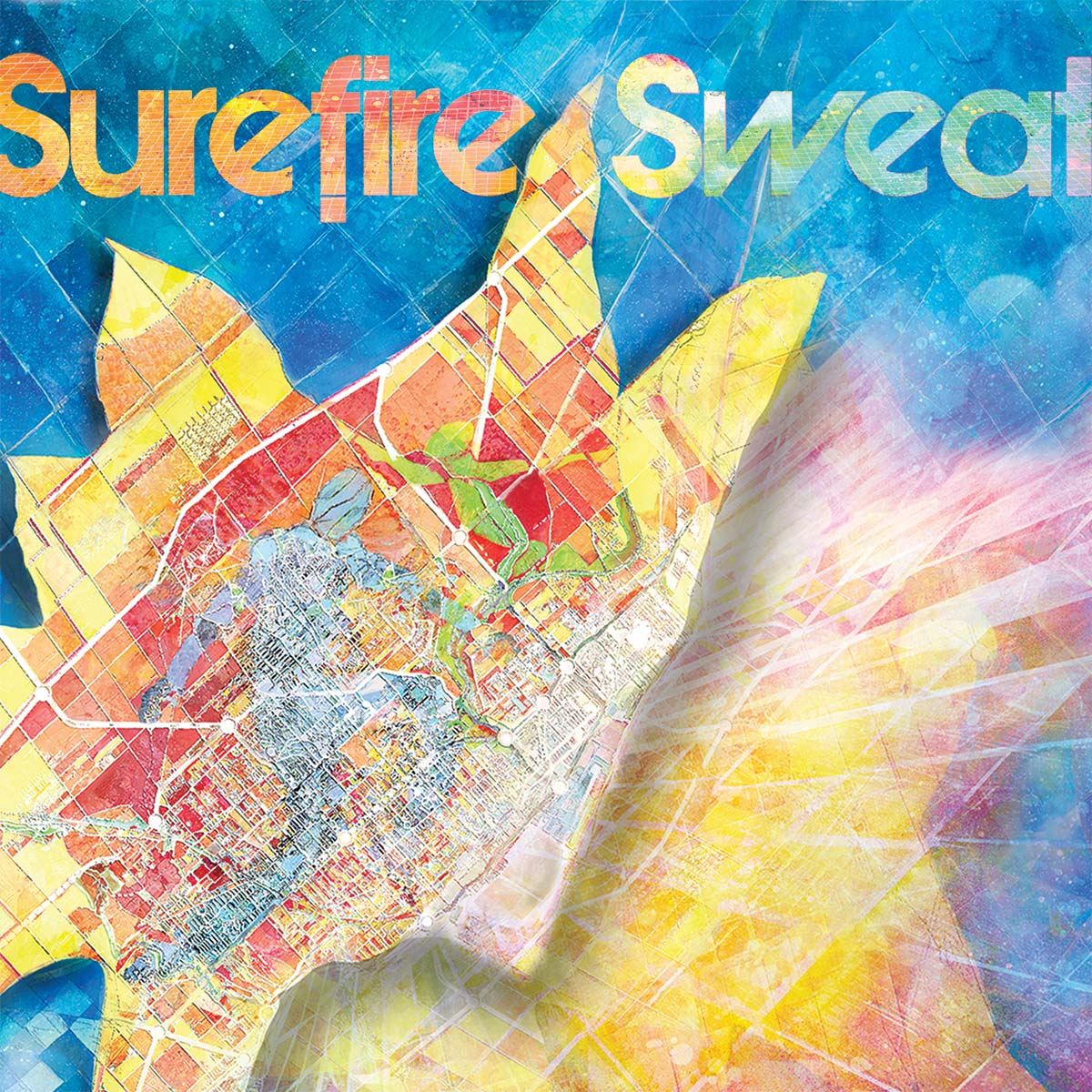 Surefire Sweat – Album art