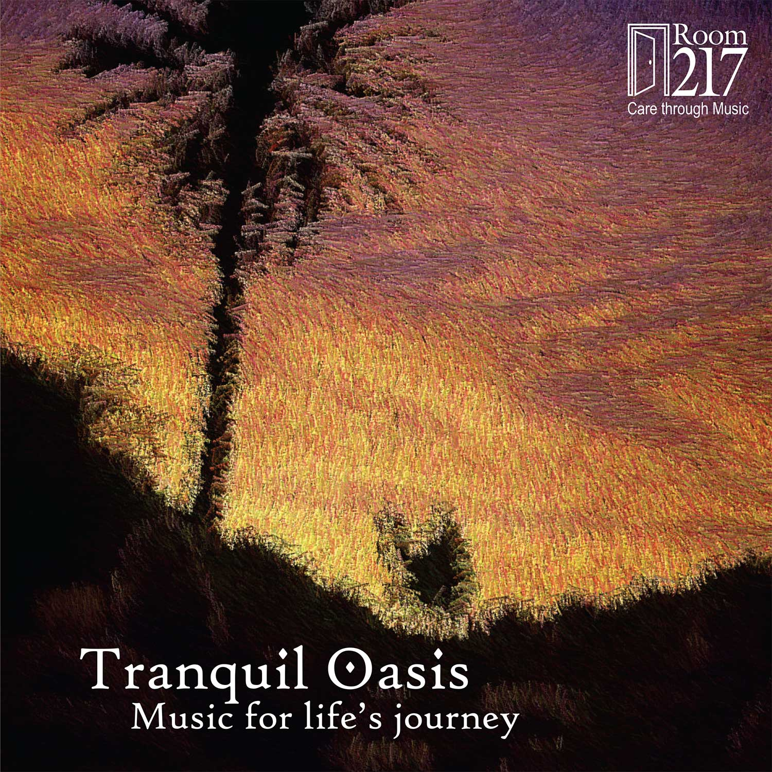 Room 217 – Tranquil Oasis - Album art