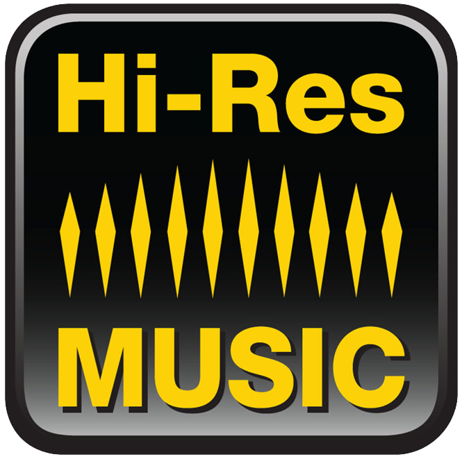 Hi-Res Music logo